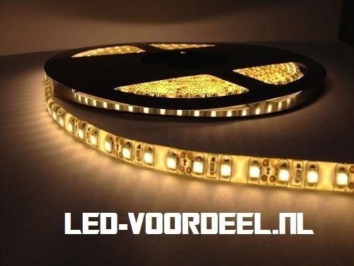 LED Strip - Warm wit - 600 LEDs  - IP65 - Plug and Play