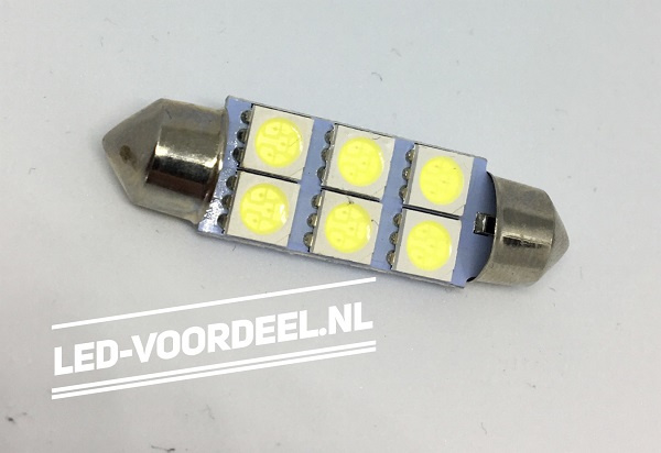 C5W - Auto Interieur - Binnenverlichting - 42mm - SMD
