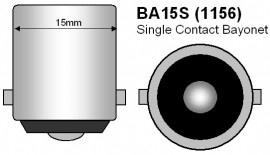 BA15S P21W / 1156 led lamp