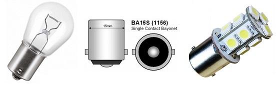 Ba15s P21w Canbus led lampen