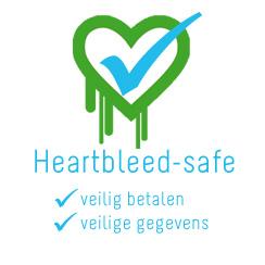altijd 100% Heartbleed-veilig geweest!