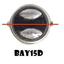 bay15d dubbele pin gelijk en hooglaag