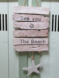 See you at the beach 70 cm