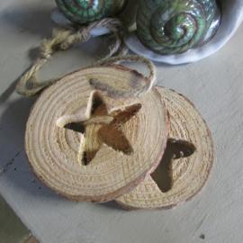 Boomschijfjes ster