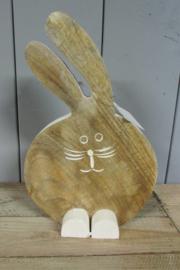 Haas/konijn naturel 25 cm