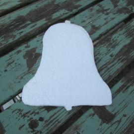 Styropor snijvorm kerstklok middel 25 cm