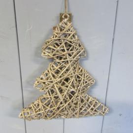 Kerstboom riet 30 cm