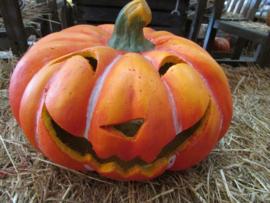 Halloween windlicht plat model 35 cm ( alleen af te halen)