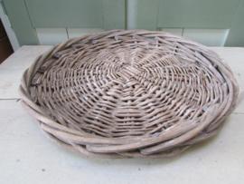 Onderbord/dienblad riet, met opstaande rand 39 cm