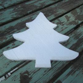 Styropor snijvorm kerstboom groot 35 cm