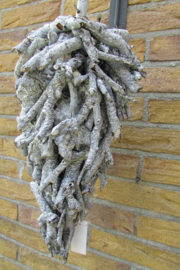 Kerstkegel van hout 40 cm