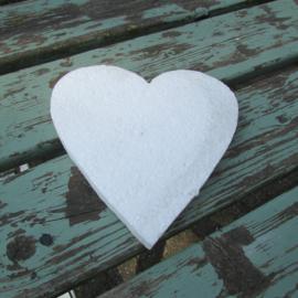 Styropor snijvorm hart 20cm
