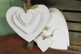 Hart krijtverf 25 cm (grootste maat)