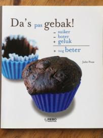 Bakboek da's pas gebak