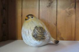 Vogel 14 cm (met geel)