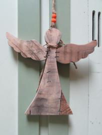 Engel van hout 23x25 cm van Clayre&Eef