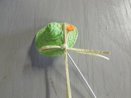 Hoedje groen 6 cm