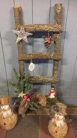 Kerstladder, (workshop)