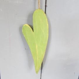 Hartje groen 18 cm