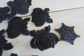 Foam stickers spin/spinnenwebben 100 stuks