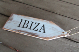 Ibiza tekstbord 27 cm