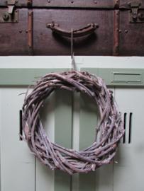 Krans van druivenhout 35 cm