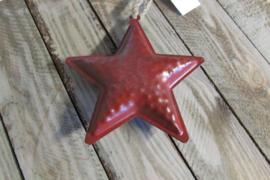 Metalen ster 12 cm