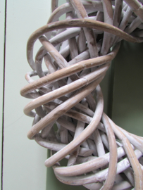 Krans white wash 30 cm