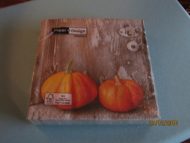 Servetten  - Two Pumpkins, klein formaat