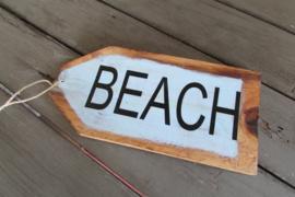 Beach tekstbord 30 cm