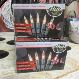 Kerstverlichting 20 lamps