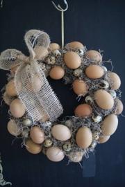 Krans met eieren (actie maart)