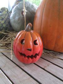 Halloween windlichtje ( alleen af te halen) 15 cm