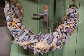 """workshop """"guirlande met schelpen"""" ( niet te bestellen in de webwinkel maar via de mail)"""