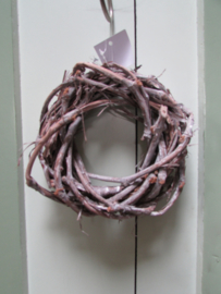 Krans van druivenhout 17 cm