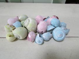 Mix pastelkleuren kokkels 90 gram nr 27