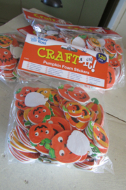 Foam stickers halloween 128 stuks