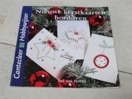 DOEboekje, nieuwe kerstkaarten borduren