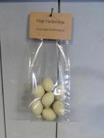 Eieren grijs/groen 3 cm