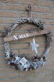 Kerstkrans  Xmas 50 cm