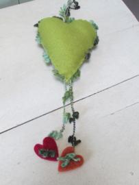 Hart Franchi groen