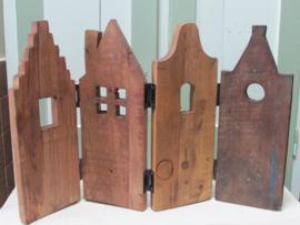 Huisjes paneel 60x40 cm (nr 2)