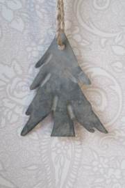 Kerstboom zink 12 cm