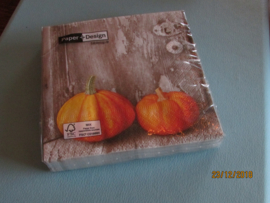 """Servetten """"two pumpkins"""""""
