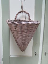 Wandhanger riet (punt)  32 cm