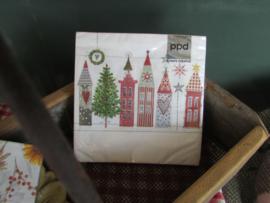 kerst servetten Paper House
