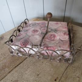 Servetten-standaard bloem, excl. servetten