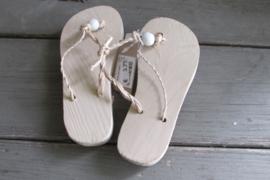 slippers naturel 15 cm