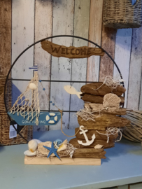 Thuisworkshop pakket, All From The Sea, blauw