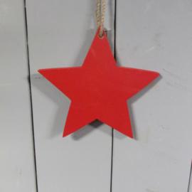 Rode ster  17,5 cm